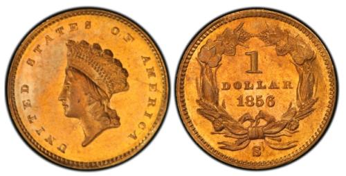 1-Dollar-1856-USA-jeden-zloty-dolar-zlota-moneta-typII