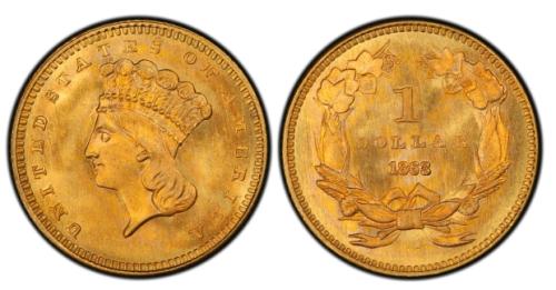 1-Dollar-1863-USA-jeden-zloty-dolar-zlota-moneta-typIII