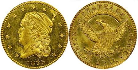 moneta-zlota-2_5-dolara-Liberty-1821-1834-United-States-of-America