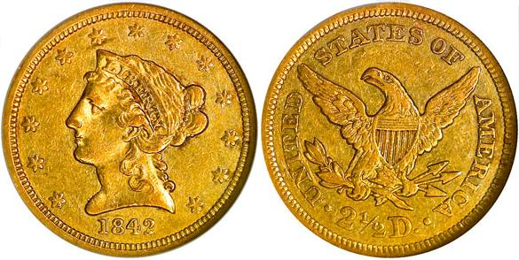 moneta-zlota-2_5-dolara-Liberty-1839-1907-United-States-of-America