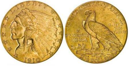moneta-zlota-2_5-dolara-Liberty-1908-1929-United-States-of-America