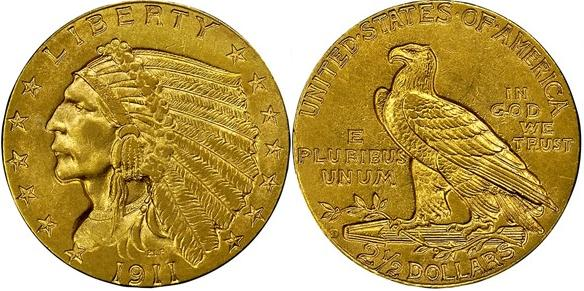 moneta-zlota-2_5-dolarowka-Liberty-1908-1929-United-States-of-America