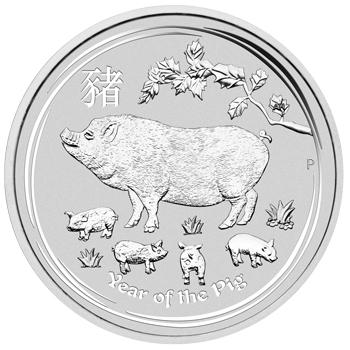 1oz-Rok-Swini-2019-Seria-Ksiezycowa-srebrna-moneta-rewers