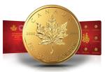 zlota-moneta-Lisc-Klonu-1g-8szt-zestaw
