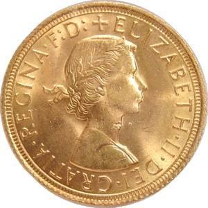 Suweren-1964-zlota-moneta-awers