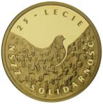 200zl-25lecie-Solidarnosc-zlota-moneta-rewers