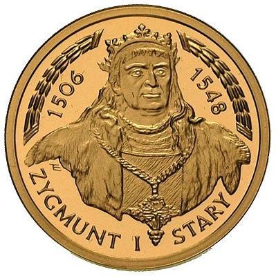 100 zł Zygmunt I Stary 1506 - 1548