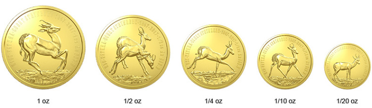 Rewers monet Serii Natura 2017 Południowa Afryka