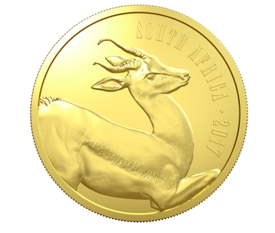 Awers monet Serii Natura 2017 Południowa Afryka