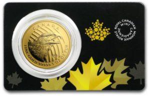 1oz-Kanadyjski-Orzel-Zew Natury-Call-of-the-Wild-zlota-moneta-2018-certipack