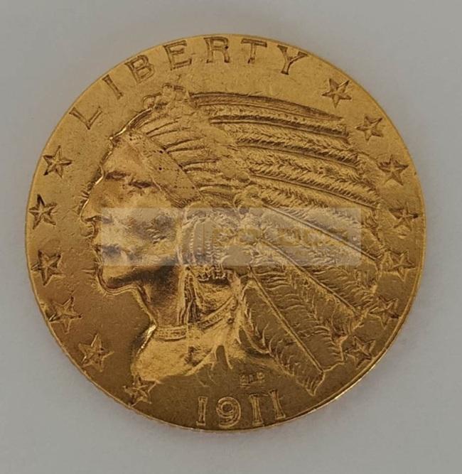 5dollars-1911-zlota-moneta-a-awers
