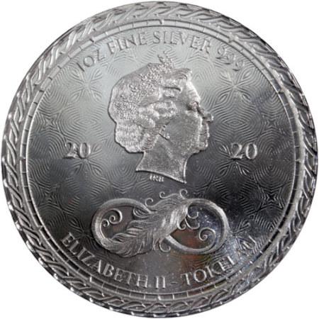 1oz-Tokelau-Chronos-2020-srebrna-moneta-awers