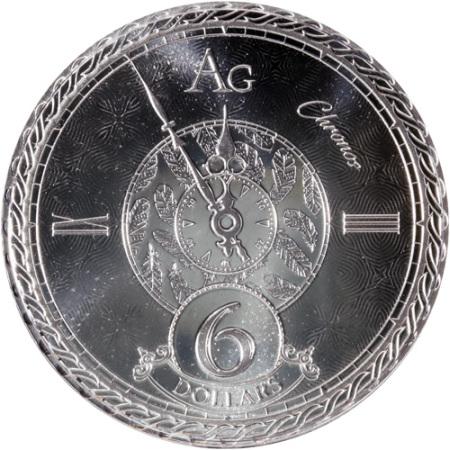 1oz-Tokelau-Chronos-2020-srebrna-moneta-rewers