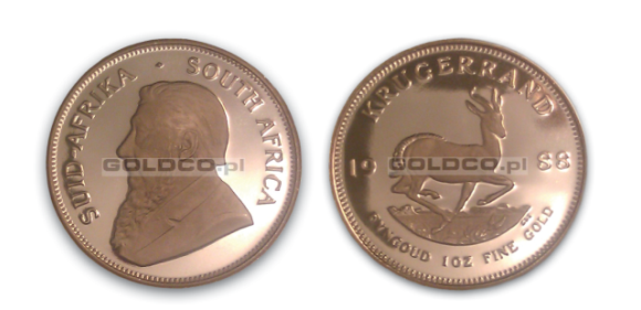 Krugerrand 1988 PROOF Cameo